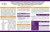 Treatment Outcomes of Oral Ibrexafungerp in Patients with Severe Fungal Infections, Refractory to or Intolerant of Standard of Care Antifungals: Results from the Phase 3 FURI Study Second Interim Analysis