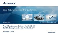 Baird 2019 Global Industrials Conference