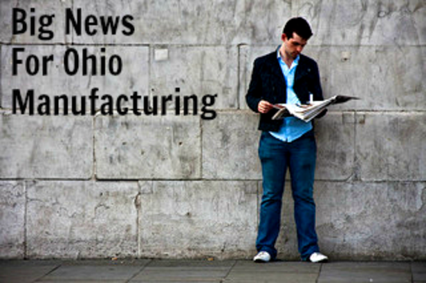 Big News For Ohio Manufacturing