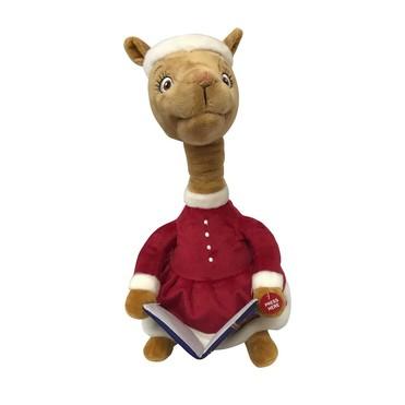 Mama Llama Christmas Storytelling Plush