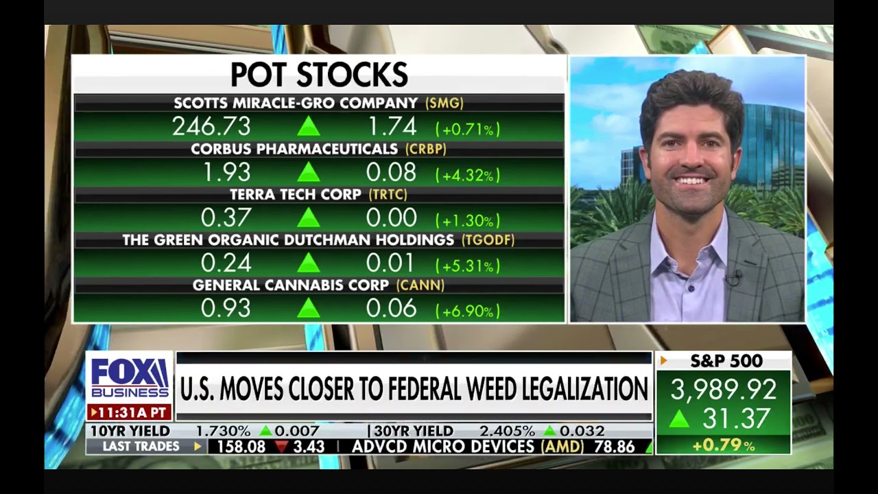 KushCo CEO Nick Kovacevich on Fox Business discusses New York legalization and recent Greenlane + KushCo merger