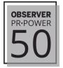 Observer's PR Power 50