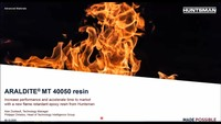 ARALDITE MT 40050 Resin: Increase Performance and Accelerate Time to Market with New Flame-Retardant Epoxy Resin