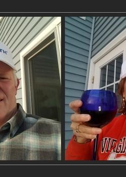 Frank & Sheila in Va. Beach say GTHCGTH! Yes, even a Virginia Tech grad says GTHCGTH!!