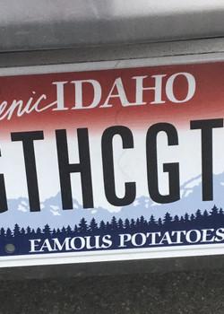 Welcome Idaho!!  #GTHCGTH