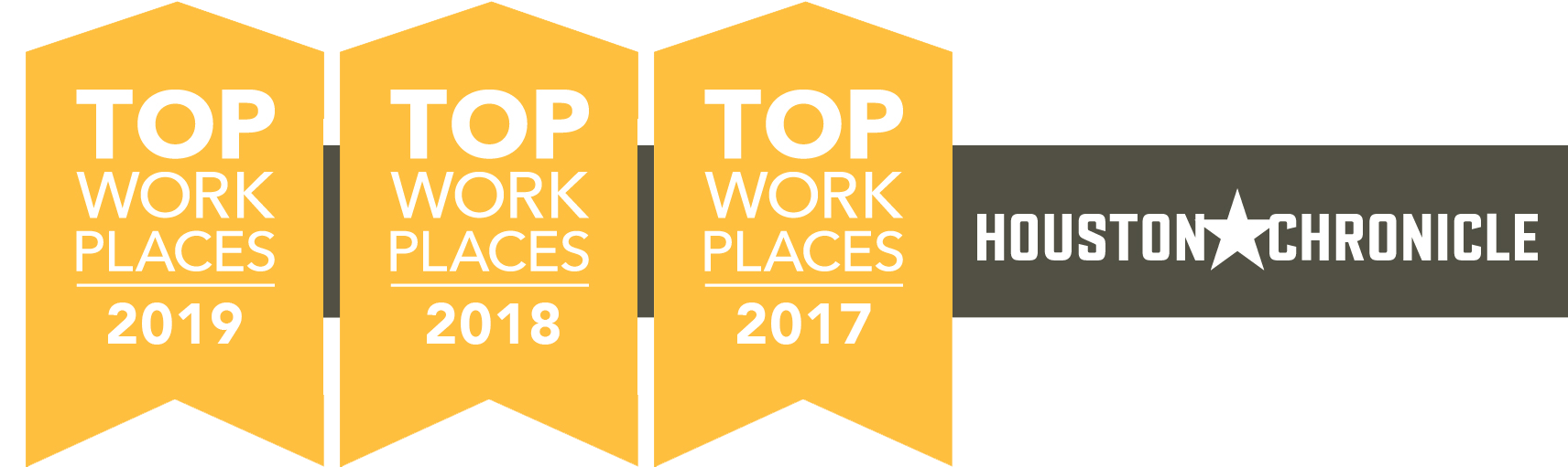 Callon Petroleum is recognized as one of the top places to work in 2017, 2018, and 2019 by the Houston Chronicle.