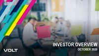 Investor Overview - 3rd Quarter 2020