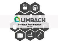 Investor Presentation, May 2018