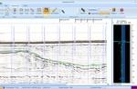 Survey Engine Seismic window showing interpretations