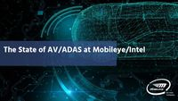 The State of AV/ADAS at Mobileye/Intel (CES 2019)