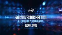 Intel's 2019 Investor Meeting – George Davis