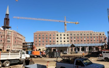A picture of The Village at USC                           (Construction & Service)