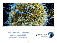 2018 ASM Biothreat Meeting