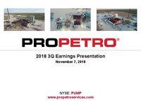 2018 Q3 Earnings Presentation