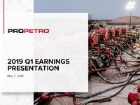 2019 Q1 Earnings Presentation