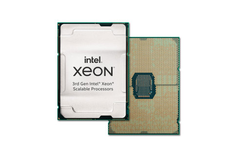 "Intel's 3rd Gen Intel Xeon Scalable processors (code-named ""Ice Lake"") are the foundation of Intel's most advanced, highest performance data center platform optimized to power a broad range of workloads. Intel introduced the new processors and the platform they power on April 6, 2021. (Credit: Intel Corporation)"