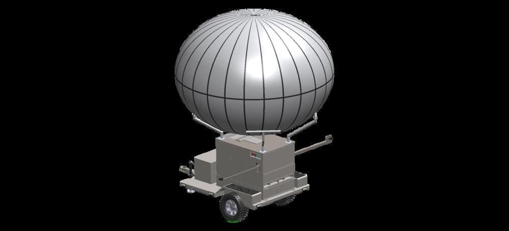 WASP Aerostat: Winch Aerostat Small Platform