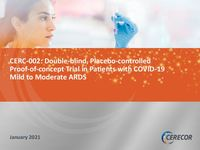 CERC-002 COVID-19 ARDS Study Results