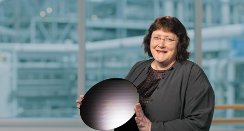 Ann Kelleher, senior vice president and general manager of Technology Development at Intel Corporation, speaks during a virtual presentation as part of the