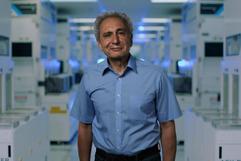 Babak Sabi, corporate vice president at Intel Corporation, speaks during a virtual presentation as part of the
