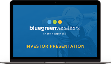 Bluegreen Vacations August 2018 Investor Presentation