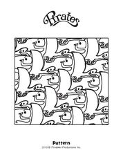 Seagulls & Whales Coloring Page