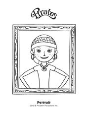 Cleo Coloring Page