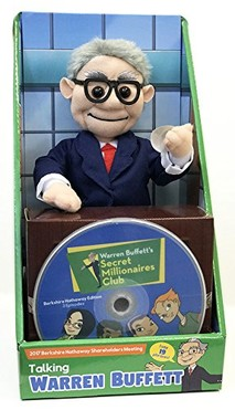 Warren Buffett Talking Doll<br><i>Sold Out!<i>