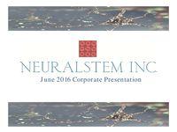 June 2016 Corporate Presentation