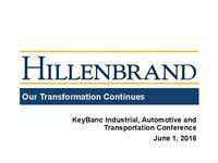 KeyBanc Industrial, Automotive and Transportation Conference Presentation