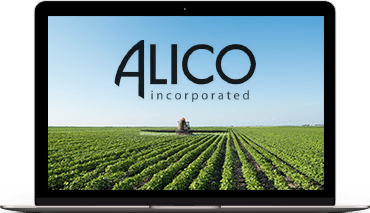 Alico Presentation for Food and Agriculture Summit