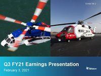 Earnings Presentation Q3 FY21