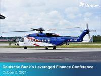 2021 Deutsche Bank Leveraged Finance Conference