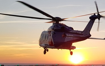 Photo of an AW139