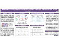 RX-5902 exhibits direct and immunomodulatory anti-tumor activities in melanoma PDX models