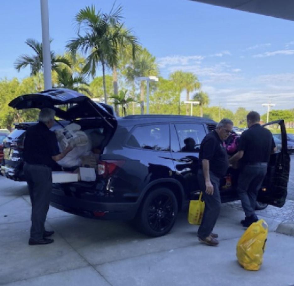 Pensacola Honda and Audi Pensacola Distribute Hurricane Sally Relief Supplies