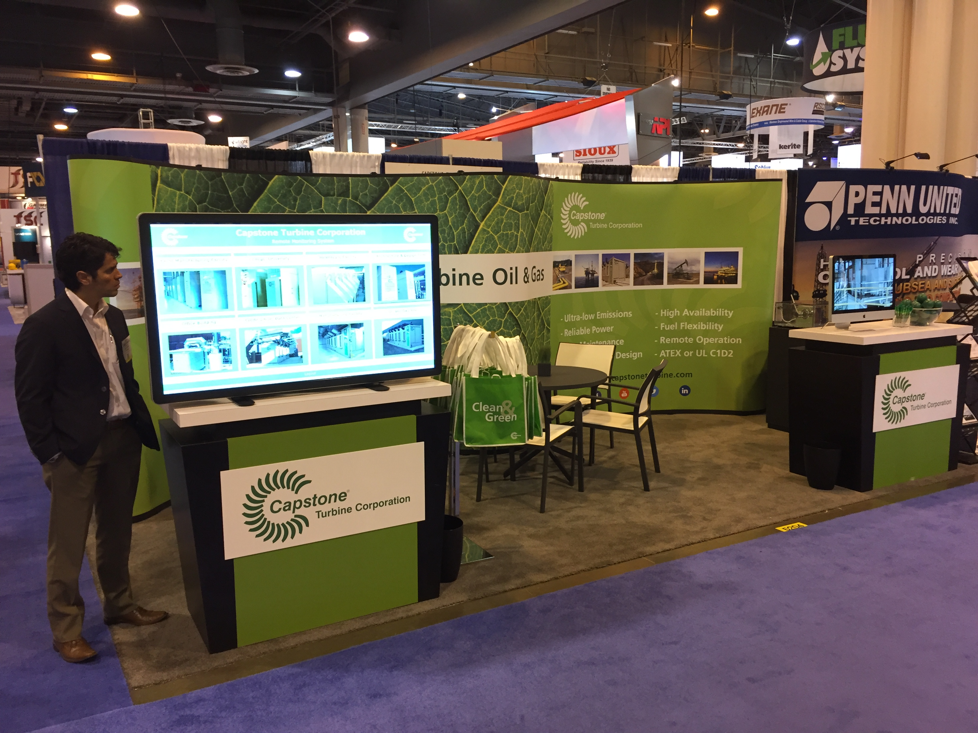 Capstone at Offshore Technology Conference 2016