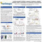 Locally secreted Fc-OX40L is superior to systemic, antibody mediated, OX40 co-stimulation for combination immunotherapy Heat Biologics 2016