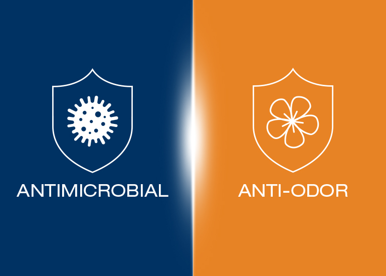 Revolutionary antimicrobial and odor-control solutions