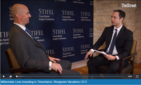 Millennials Love Investing in Timeshares: Bluegreen Vacations CEO | The Street