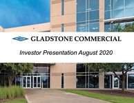 Gladstone Commercial Investor Presentation August 2020