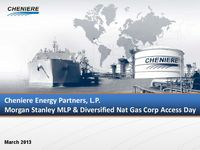 Morgan Stanley MLP & Diversified Nat Gas Corp Access Day
