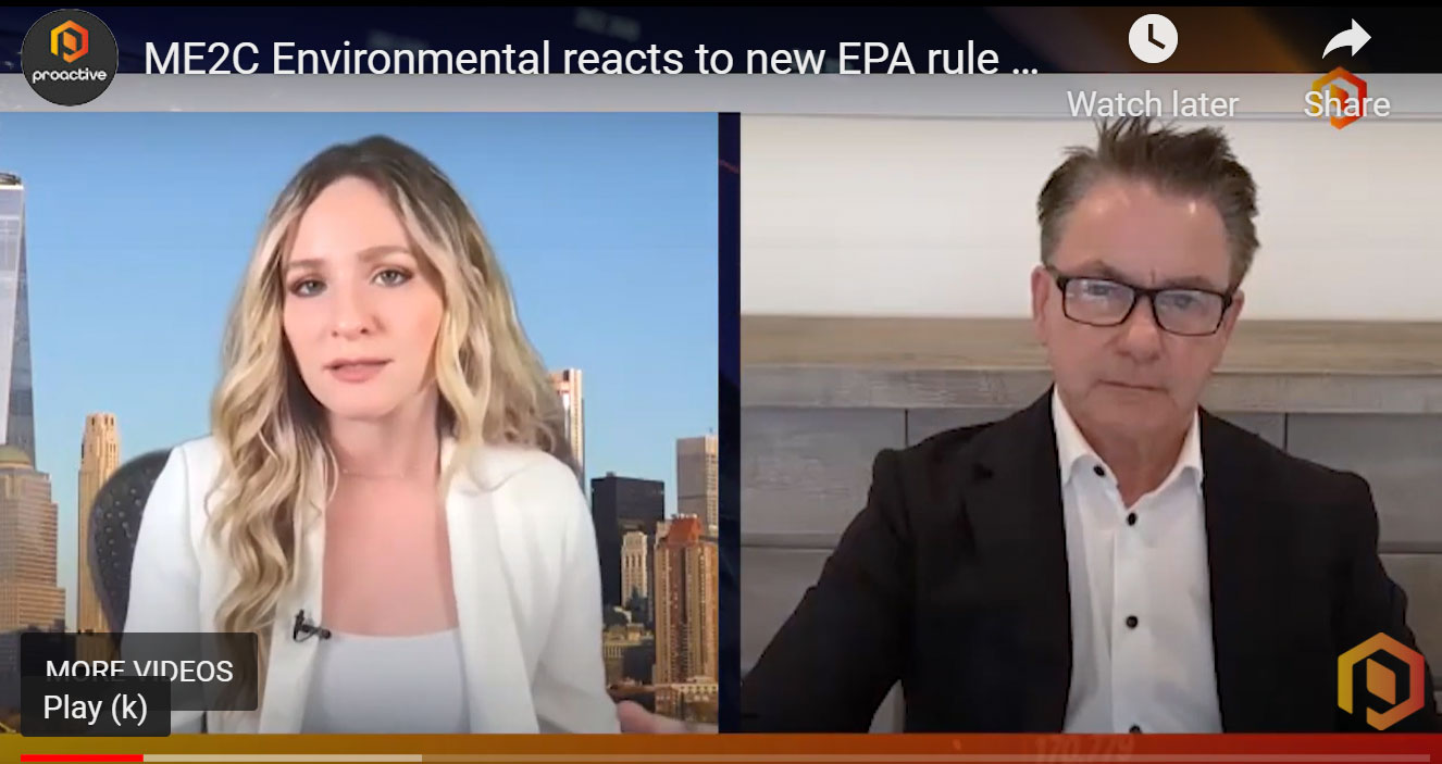 ME2C Environmental Reacts to New EPA Rule to...