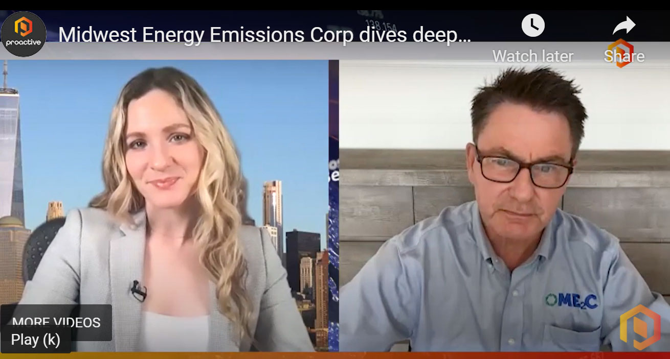 Midwest energy emissions corp dives deeper into...