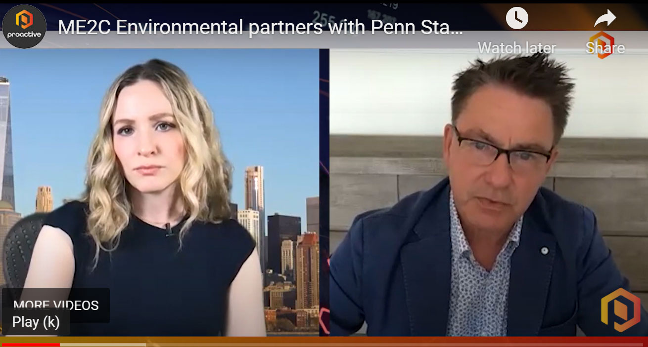 ME2C Environmental Partners with Penn State to...