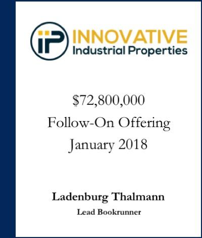Innovative Industrial Properties