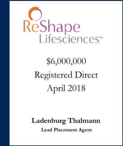 ReShape Lifesciences