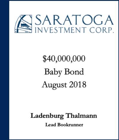 Saratoga Investment