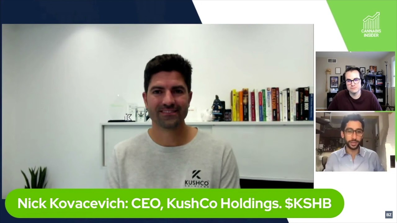 Benzinga Cannabis Insider: KushCo CEO Explains How Greenlane Merger Catapults Them To The Next Level
