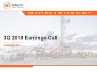 Q3 2018 Earnings Release Presentation